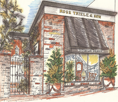 Ross Thiele & Son | San Diego Interior Design 7425-Girard-Ave.-Rendering- Our History