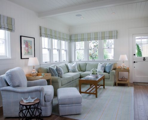 Ross Thiele & Son | San Diego Interior Design Family-Room-495x400 Shores Beach House