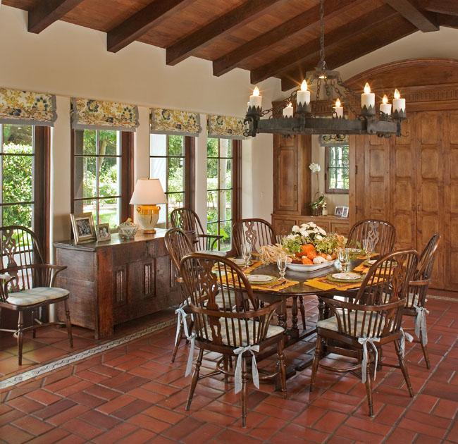 San Diego Interior Designers: Santa Fe-Spanish Mediterranean - Ross Thiele & Son