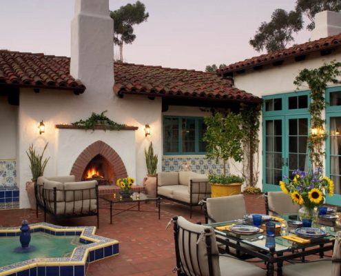 Ross Thiele & Son | San Diego Interior Design Geier-013-495x400 Santa Fe-Spanish Mediterranean
