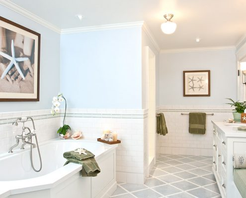 Ross Thiele & Son | San Diego Interior Design HUNTE-Bathroom-495x400 La Jolla Beach House 2