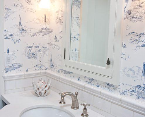 Ross Thiele & Son | San Diego Interior Design HUNTE-Guest-Bathroom-495x400 La Jolla Beach House 2