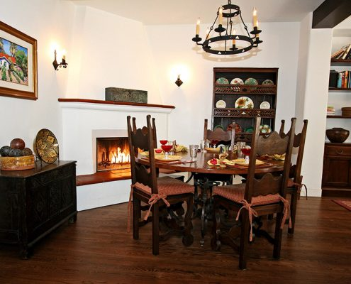 Ross Thiele & Son | San Diego Interior Design LANE-Family-Dining-495x400 La Jolla Spanish