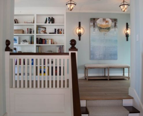 Ross Thiele & Son | San Diego Interior Design Stair-Hall-495x400 Coronado Beach House